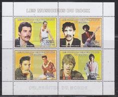 Congo 2006 Rock Stars M/s PERFORATED  ** Mnh (19804) - Ongebruikt