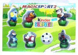 RARE DIORAMA KINDER - BOITE MAGIC SPORT 2 - Otros