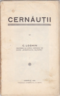Ukraine - Historical Romania - Cernauti - Czernowitz - C. Loghin - Judaica - Reiseprospekte