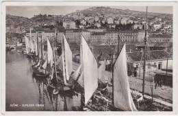 Croatia, Hrvatska - Susak (Rijeka, Fiume) Supilova Obala - With Stamp 1934 - Croatie