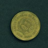 PERU  -  2006  20c  Circulated Coin - Peru