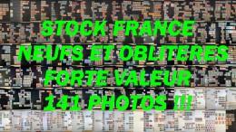 STOCK FRANCE - 1900 � 1960 - Neufs et oblit�r�s - Class�s - Forte valeur - Id�al d�taillant ou association