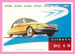 CPM CITROEN  DS19 - Cartoline