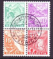 774 - NABA 1934 - Ausschnitte Gestempelt - Blocs & Feuillets