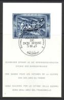 781 - 1945 Spende Block Gestempelt - Blocs & Feuillets