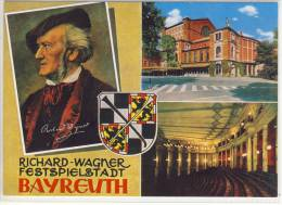 BAYREUTH - Richard Wagner Festspielstadt, Fehldruck  Marke - Bayreuth