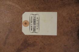 ETICHETTA CARTACEA MOLINI E PATIFICI FRATELLI GUERRIERI &CO. MODICA _ RAGUSA_ 05/06/1956 - Other Collections