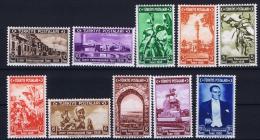 Turkey: Mi Nr 1019 - 1028    Isfla  1363 - 1372  , 1938 MNH/**/postfrisch - 1921-... Republic