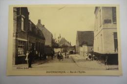 CPA 59 HAVERSKERQUE. Rue De L église. 10/11/1939. - Autres Communes