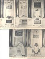 MONUMENT COMMEMORATIF DE L'INCENDIE DU BAZAR DE LA CHARITE 1897 13 CPA DIFFERENTES TRES BON ETAT UNCIRCULATED - Arrondissement: 08