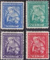 SURINAME 1928 Van Heemstra Stichting Complete Ongestempelde Serie NVPH 137 / 140 - Suriname ... - 1975