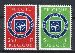Bélgica 1959. Yvert 1094-95 ** MNH. - Belgique