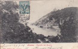 Cpa-ita-livorno-castello Del Romito-precursore-edi Belforte N°5051 - Livorno