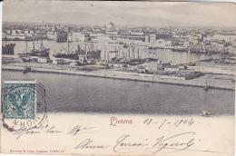 Cpa-ita-livorno-Vista Generale Del Porto-edi Römmler & Jonas Dresden - Livorno