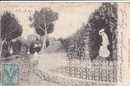 Cpa-ita-livorno Ardenza-villa Sanromerio-edit Belforte N°621 - Livorno