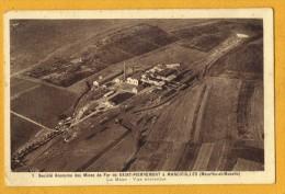 54 Meurthe Et Moselle Mancieulles Societé Des Mines De Fer De Ssaint Pierremont La Mine Vue Aerienne - France