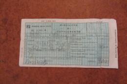 BIGLIETTO DI SUPPLEMENTO FERROVIE DELLO STATO 24.10.1976 CON CUCCETTA - Biglietti Di Trasporto