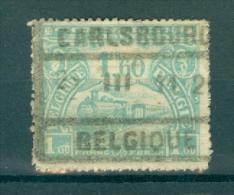 """BELGIE - OBP Nr TR 119 -  Cachet  """"CARLSBOURG - BELGIQUE"""" - (ref. AD-1982) - 1915-1921"""