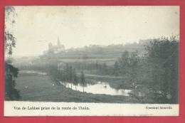 Lobbes - Vue De Lobbes Prise De La Route De Thuin - 1908 ( Voir Verso ) - Lobbes