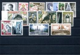 Monaco Année 1958 - Neufs