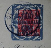 Entier Postal Carte Commerciale.OLDENZAAL Pour PARIS.1926.3 Scanners. - Postwaardestukken