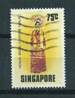 1976 Singapore Costumes,klederdracht Used/gebruikt/oblitere - Singapore (1959-...)