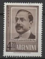 ARGENTINA 1960 Birth Centenary Of Drago - 4p20 Dr. L. Drago MNH - Neufs