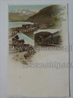 Salzburg 34 Zell A See Litho Ed Glaser Karlmann 1897 - Autriche