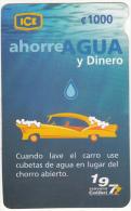 COSTA RICA - Save Water, Ahorre Agua, ICE Tel Prepaid Card C 1000, 11/06, Used - Costa Rica