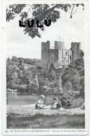 DEPT 03 : Enfants 2 Scans : Bourbon L Archambault , étang Et Ruines Du Chateau - France