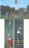 PJONGJANG KDVR ARTISTES 2 CPSM CIRCA 1970 UNCIRCULATED DOS DIVISE TBE RARISIMES - Korea (Noord)