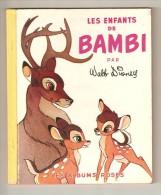 Album Les Enfants De Bambi  Albums Roses Hachette Disney 1955 - Bücher, Zeitschriften, Comics
