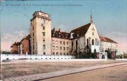 WR. NEUSTADT - K. & K.Theres.Militär-Akademie Und Georgskirche, Gel.1912 - Wiener Neustadt