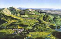 GRATZEN Und Umgebung (Südböhmen, Tschechien) - Vogelschau, 1910? - Böhmen Und Mähren