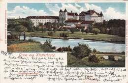 Gruss Aus KLOSTERBRUCK (Südmähren), Gel.1908 - Böhmen Und Mähren