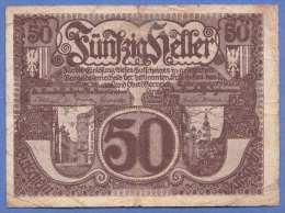 50 Heller Gutschein Der Oberösterreichische Landeskasse - Gebrauchsschein - Autriche