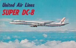 United Air Lines Super DC-8