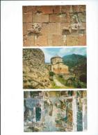 GEORGIA Géorgie Lot De 14 Cartes Eglise Médiévale De ATENI Cartes Edition Russe - Port En Plus Postage To Add - Géorgie