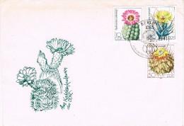16519. Carta F.D.C. BERLIN (Aemania DDR)  1983. Cactus - Cactus