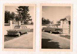 Photo Voiture Auto 1962   2 Photos - Automobiles