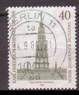 Berlin , 1981 , Mi.Nr. 640 O / Used - [5] Berlín