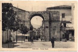 Abruzzo-teramo Veduta Particolare Porta Reale Anni/20 - Teramo