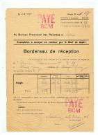 SAISIE DES RECOLTES PAR LES AUTORITES ALLEMANDE CULTIVATEUR DE VIEUX RENG (NORD) 10 02 1916 - 1914-18