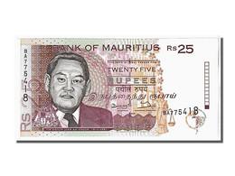Ile Maurice, 25 Rupees Type Ah-Chuen - Maurice