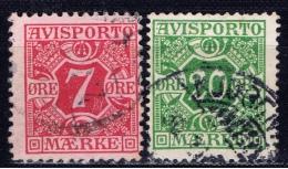 DK+ Dänemark 1914 Mi 3Y 5Y Verrechnungsmarken - Danemark