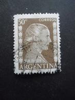 Argentine N°524 EVA PERON Oblitéré - Berühmt Frauen