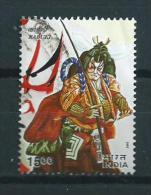 2002 India Kabuki,Japan Used/gebruikt/oblitere - India