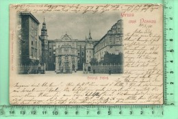 DESSAU: Gruss, Herzogl. Schloss - Dessau