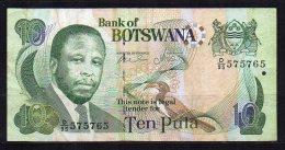 Botswana Billet De 10 Pula 2002 D95 - Botswana