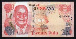 Botswana Billet De 20 Pula 2006 E78 - Botswana